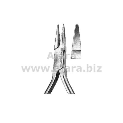 Modell Marburg Orthodontic Pliers, Carbid Inserts Jaws