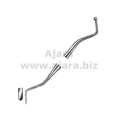 Plastic Filling Instruments Amalgam Carvers fig.2