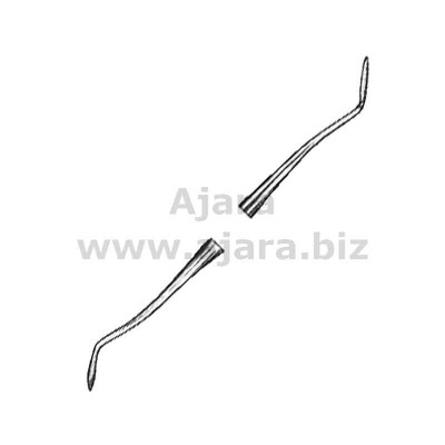 Plastic Filling Instruments Amalgam Hollenback fig.1/2