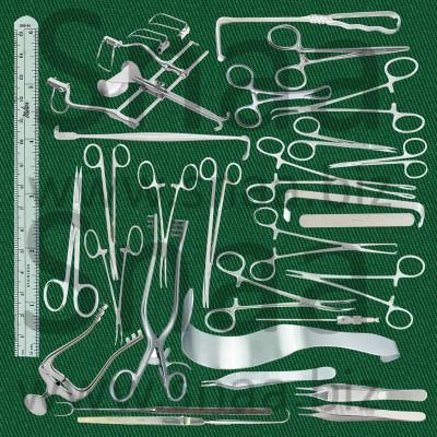Pediatric Laparotomy set